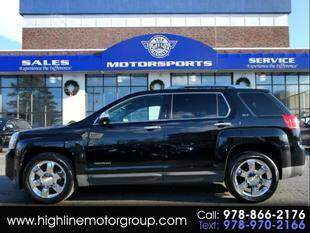 2010 GMC Terrain for sale at Highline Group Motorsports in Lowell MA