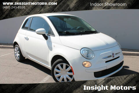 2012 FIAT 500 for sale at Insight Motors in Tempe AZ