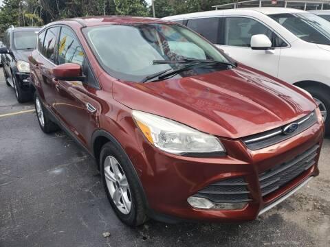 2015 Ford Escape for sale at America Auto Wholesale Inc in Miami FL