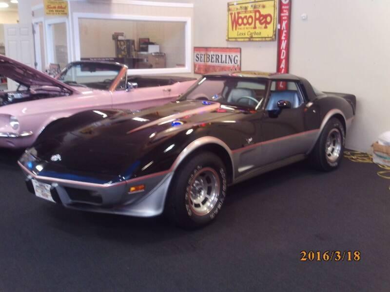1978 Chevrolet Corvette for sale at MUSCLE CAR CITY LLC in Punta Gorda FL