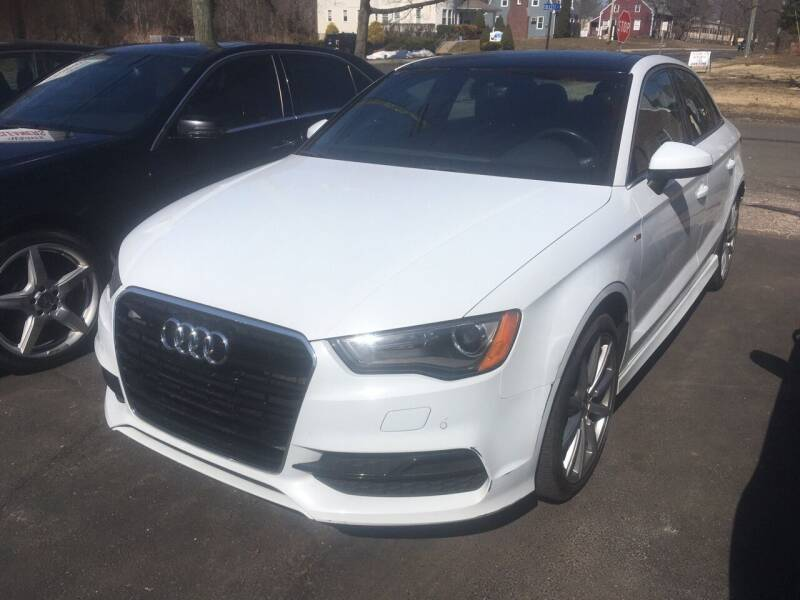 2016 Audi A3 for sale at MELILLO MOTORS INC in North Haven CT