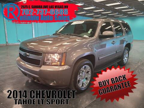 2014 Chevrolet Tahoe for sale at Reliable Auto Sales in Las Vegas NV