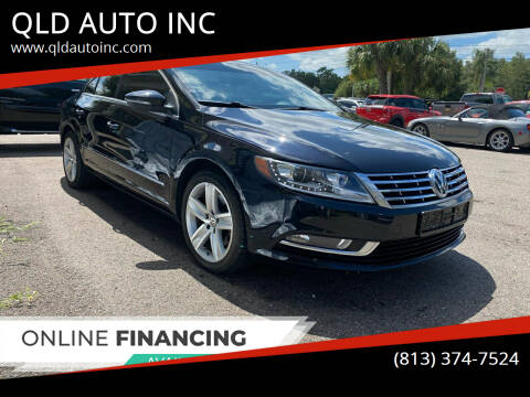 2013 Volkswagen CC for sale at QLD AUTO INC in Tampa FL