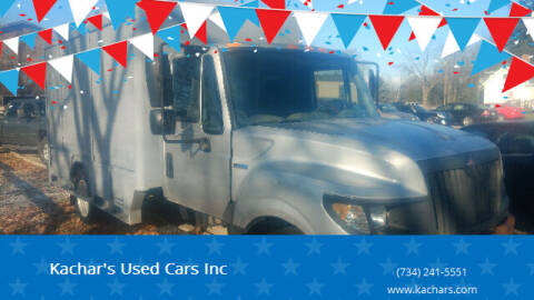 2012 International TerraStar for sale at Kachar's Used Cars Inc in Monroe MI