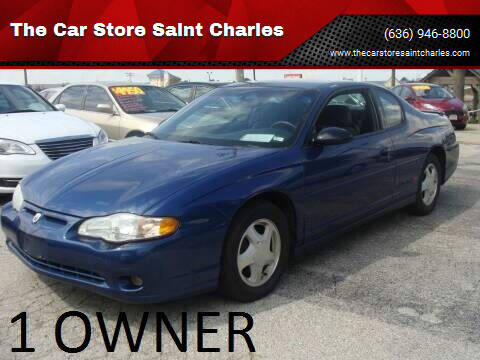 2003 Chevrolet Monte Carlo for sale at The Car Store Saint Charles in Saint Charles MO