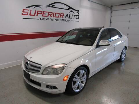 2008 Mercedes-Benz C-Class for sale at Superior Auto Sales in New Windsor NY