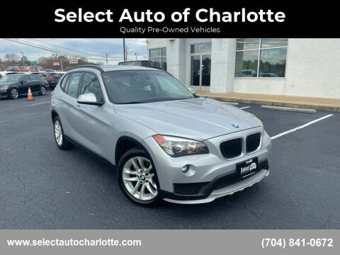 2015 BMW X1 for sale at Select Auto of Charlotte in Matthews NC