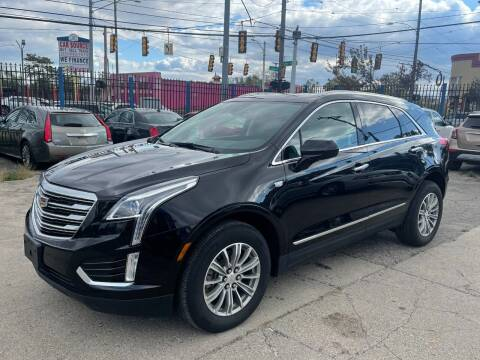 2018 Cadillac XT5 for sale at SKYLINE AUTO in Detroit MI