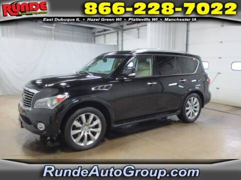 2012 Infiniti QX56 for sale at Runde Chevrolet in East Dubuque IL
