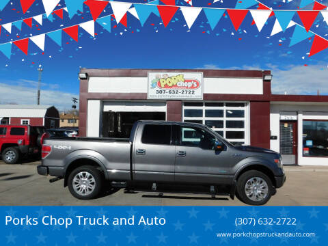 2014 Ford F-150 for sale at Pork Chops Truck and Auto in Cheyenne WY