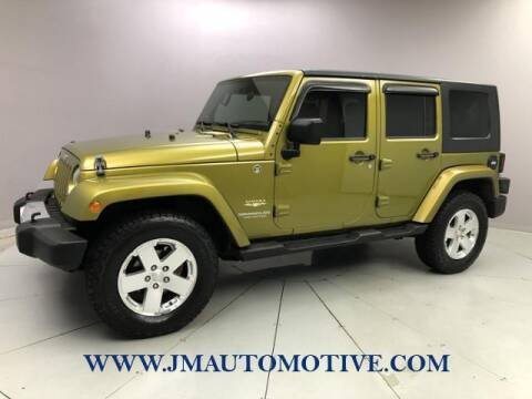 2008 Jeep Wrangler Unlimited for sale at J & M Automotive in Naugatuck CT