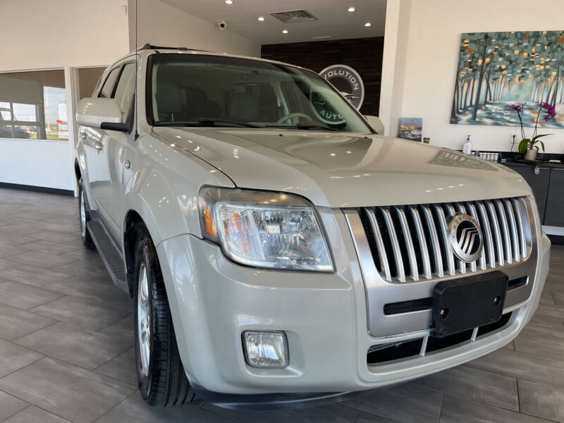 2009 Mercury Mariner for sale at Evolution Autos in Whiteland IN