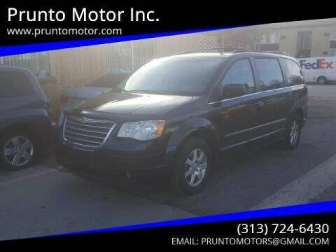 2009 Chrysler Town and Country for sale at Prunto Motor Inc. in Dearborn MI