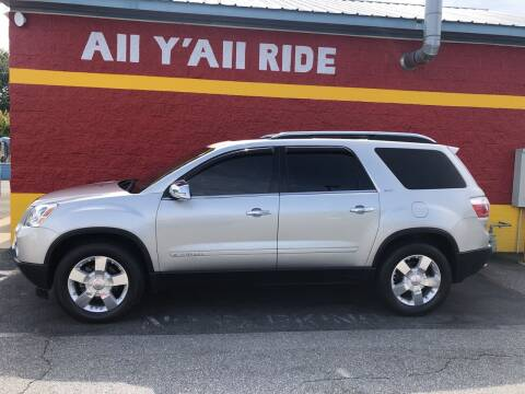 2008 GMC Acadia for sale at Big Daddy's Auto in Winston-Salem NC