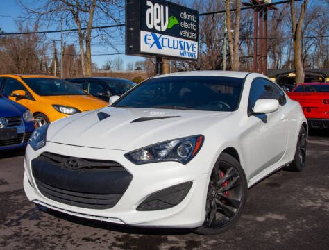 2013 Hyundai Genesis Coupe for sale at EXCLUSIVE MOTORS in Virginia Beach VA