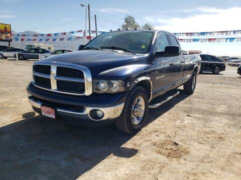 2005 Dodge Ram Pickup 3500 for sale at Bickham Used Cars in Alamogordo NM