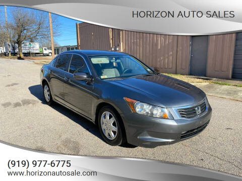 2009 Honda Accord for sale at Horizon Auto Sales in Raleigh NC
