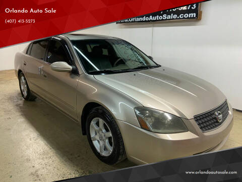 2006 Nissan Altima for sale at Orlando Auto Sale in Orlando FL
