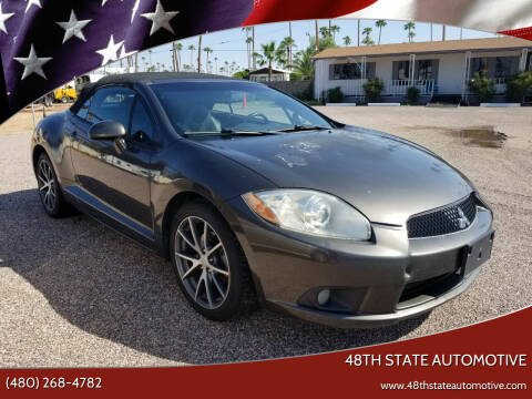 2011 Mitsubishi Eclipse Spyder for sale at 48TH STATE AUTOMOTIVE in Mesa AZ