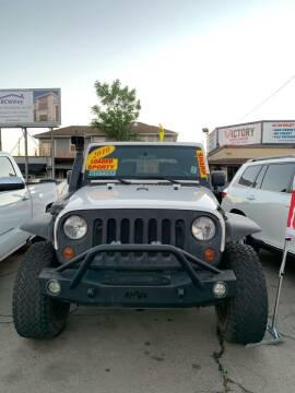 2010 Jeep Wrangler for sale at Victory Auto Sales in Stockton CA