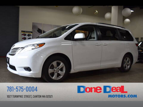 2017 Toyota Sienna for sale at DONE DEAL MOTORS in Canton MA