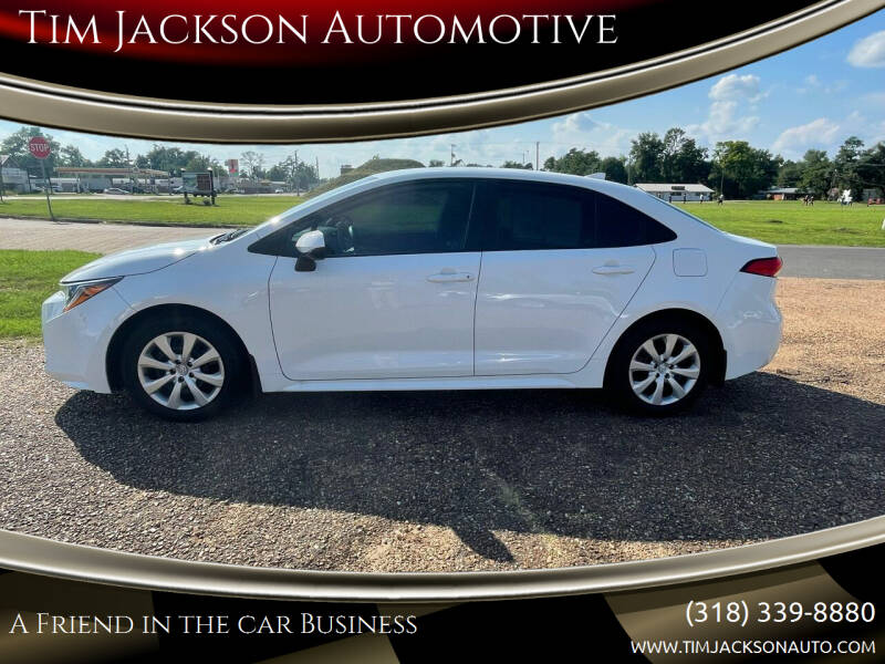 2020 Toyota Corolla for sale at Tim Jackson Automotive in Jonesville LA