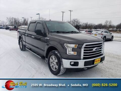 2016 Ford F-150 for sale at RICK BALL FORD in Sedalia MO