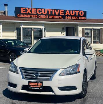 2013 Nissan Sentra for sale at Executive Auto in Winchester VA