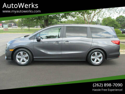 2019 Honda Odyssey for sale at AutoWerks in Sturtevant WI