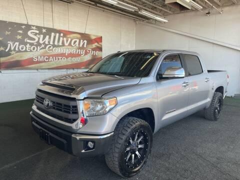 2014 Toyota Tundra for sale at SULLIVAN MOTOR COMPANY INC. in Mesa AZ