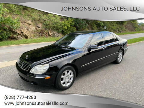 2002 Mercedes-Benz S-Class for sale at Johnsons Auto Sales, LLC in Marshall NC