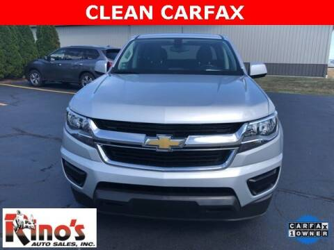 2019 Chevrolet Colorado for sale at Rino's Auto Sales in Celina OH