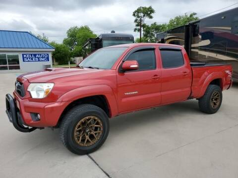 2012 Toyota Tacoma for sale at Kell Auto Sales, Inc - Grace Street in Wichita Falls TX