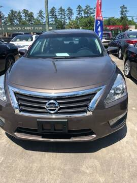 2015 Nissan Altima for sale at Gralin Hampton Auto Sales in Summerville SC
