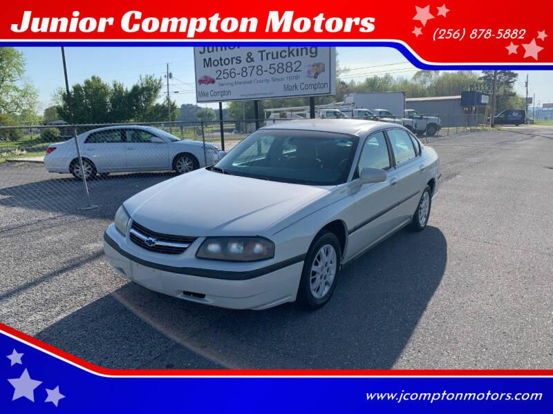 2003 Chevrolet Impala for sale at Junior Compton Motors in Albertville AL
