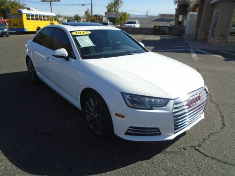 2017 Audi A4 for sale at Team D Auto Sales in St George UT