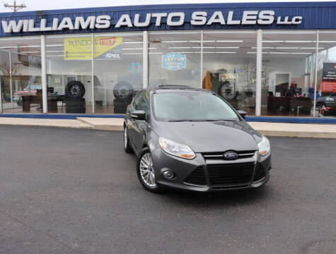 2012 Ford Focus for sale at Williams Auto Sales, LLC in Cookeville TN