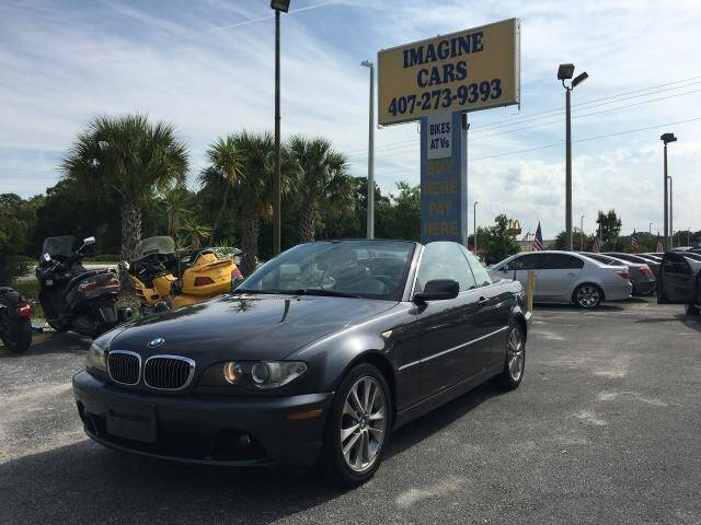 2006 BMW 3 Series for sale at IMAGINE CARS and MOTORCYCLES in Orlando FL