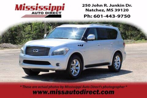 2014 Infiniti QX80 for sale at Auto Group South - Mississippi Auto Direct in Natchez MS