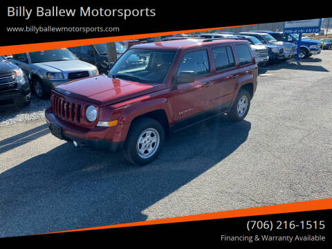 2012 Jeep Patriot for sale at Billy Ballew Motorsports in Dawsonville GA