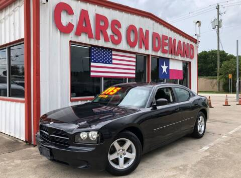 2009 Dodge Charger for sale at Cars On Demand 2 in Pasadena TX