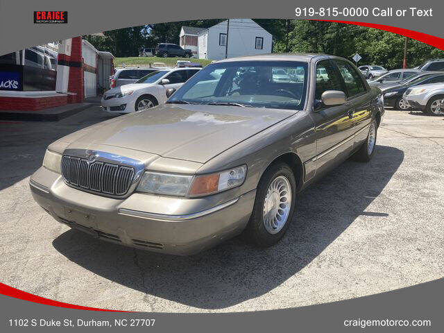 2002 Mercury Grand Marquis for sale at CRAIGE MOTOR CO in Durham NC