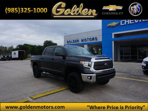 2019 Toyota Tundra for sale at GOLDEN MOTORS in Cut Off LA