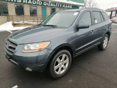 2008 Hyundai Santa Fe for sale at KRIS RADIO QUALITY KARS INC in Mansfield OH