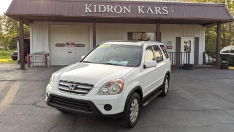 2005 Honda CR-V for sale at Kidron Kars INC in Orrville OH