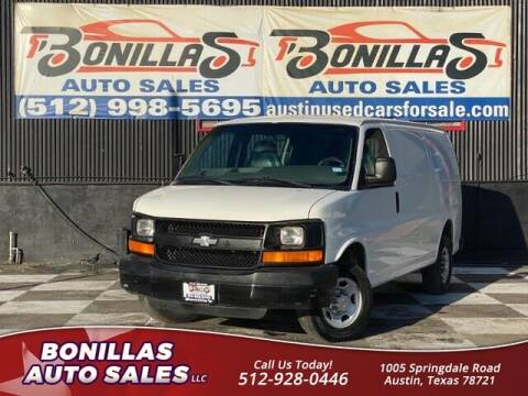2003 Chevrolet Express Cargo for sale at Bonillas Auto Sales in Austin TX