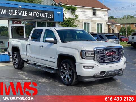 2017 GMC Sierra 1500 for sale at MWS Wholesale  Auto Outlet in Grand Rapids MI