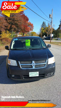 2008 Dodge Grand Caravan for sale at Shamrock Auto Brokers, LLC in Belmont NH
