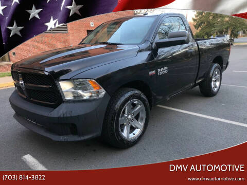 2014 RAM Ram Pickup 1500 for sale at DMV Automotive in Falls Church VA