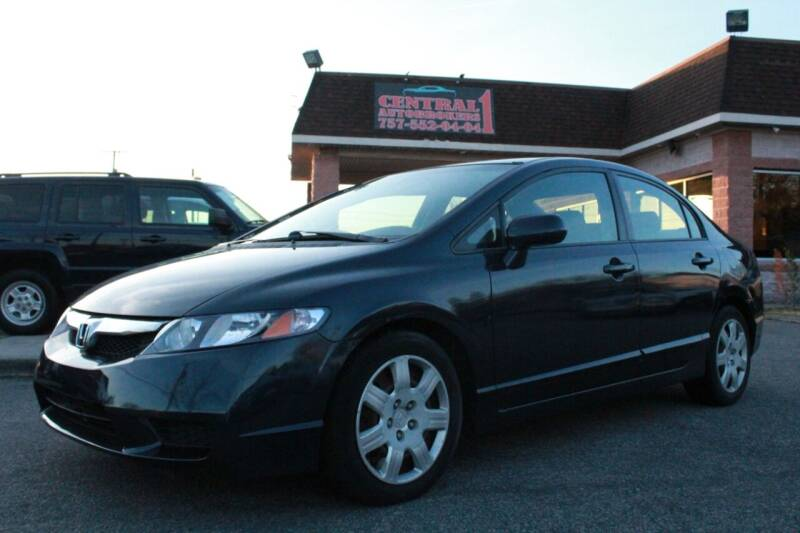 2009 Honda Civic for sale at Central 1 Auto Brokers in Virginia Beach VA